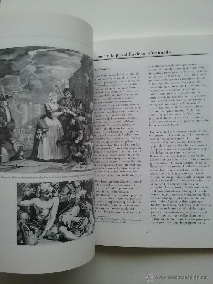 Libros de segunda mano: THE RAKE S PROGRESS ( LA CARRERA DEL LIBERTINO ) - TEATRO - MUSICA IGOR STRAVINSKY LIBRETO - Foto 6 - 53172096