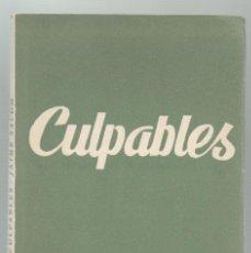 Libros de segunda mano: CULPABLES. JAIME SALOM. ED. ALFIL. COLECCION TEATRO, N.337. MADRID.1962. 64 PAGS. 15,5X11 CM.. Lote 53235102