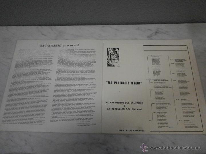 ELS PASTURETS D´OLOT - 1977 - TEATRE PRINCIPAL - NACIMIENTO DEL SALVADOR - CENTRE CATOLIG OLOT (Libros de Segunda Mano (posteriores a 1936) - Literatura - Teatro)