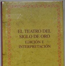 Libros de segunda mano: EL TEATRO DEL SIGLO DE ORO, EDICIÓN E INTERPRETACIÓN. VARIOS AUTORES, IBEROAMERICANA, 2010. Lote 53761562