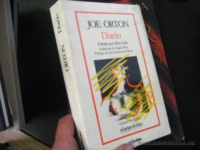 JOE ORTON, DIARIO, GRIJALBO, 1988 BUEN ESTADO , CINE TEATRO (Libros de Segunda Mano (posteriores a 1936) - Literatura - Teatro)
