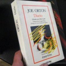 Libros de segunda mano: JOE ORTON, DIARIO, GRIJALBO, 1988 BUEN ESTADO , CINE TEATRO. Lote 53810215