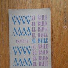 Libros de segunda mano: EL BAILE EDGAR NEVILLE,. Lote 53840714