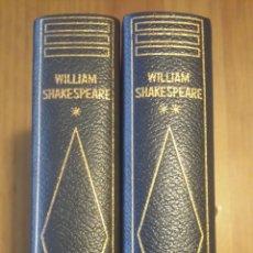 Libros de segunda mano: WILLIAM SHAKESPEARE. TEATRO COMPLETO. DOS TOMOS. EDITORIAL PLANETA, 1967.. Lote 54343891