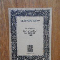 Libros de segunda mano: LOS AMANTES DE TERUEL, HARTZENBUSCH, CLASICOS EBRO. Lote 54671311