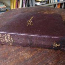 Libros de segunda mano: LOPE DE VEGA: OBRAS ESCOGIDAS, TEATRO - TOMO II (PLENA PIEL, 1962 - 1500 PP. PAPEL BIBLIA, CINTA LEC. Lote 55126256