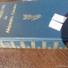Libros de segunda mano: TEATRO SELECTO DE ALEJANDRO CASONA (1972). Lote 55342017