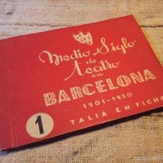 Libros de segunda mano: MEDIO SIGLO DE TEATRO EN BARCELONA 1901-1950.- Nº 1. TALIA EN FICHAS . Lote 55407901