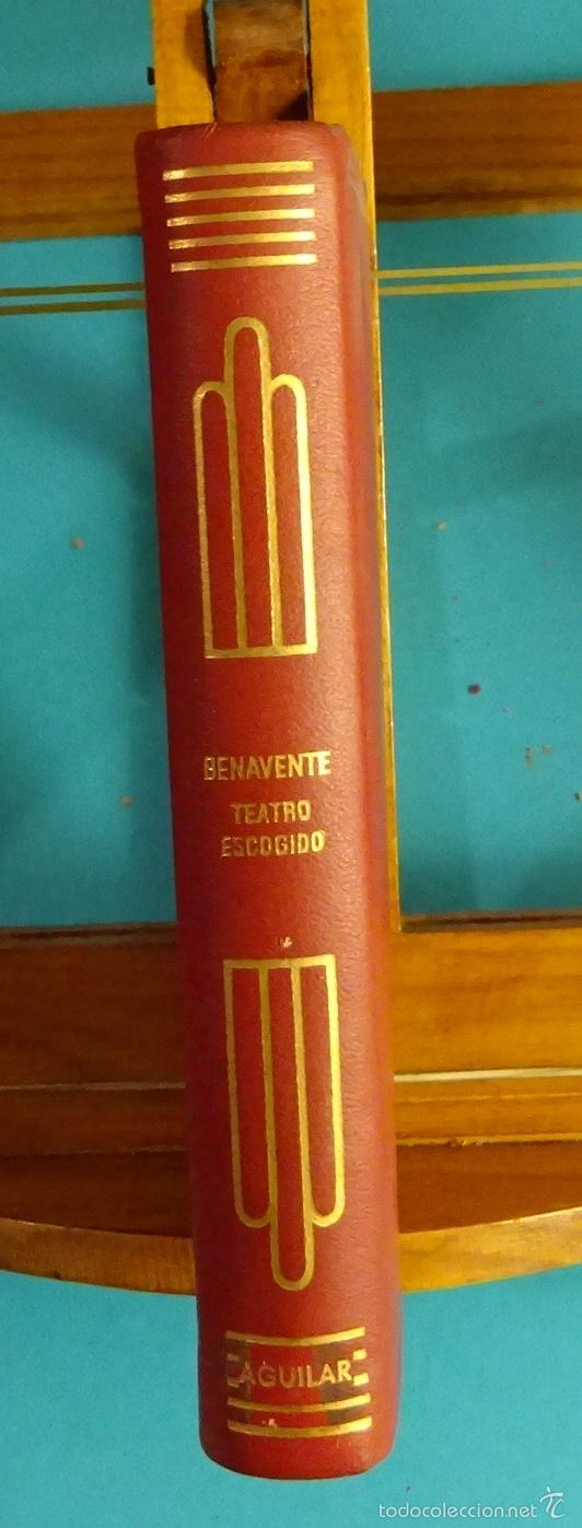 Libros de segunda mano: LOS INTERESES CREADOS. LA CIUDAD ALEGRE Y CONFIADA. CARTAS DE MUJERES. JACINTO BENAVENTE - Foto 3 - 56192016