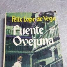 Libros de segunda mano: FUENTE OVEJUNA - FELIX LOPE DE VEGA - PLAZA Y JAMÉS AÑO 1964. Lote 56243855
