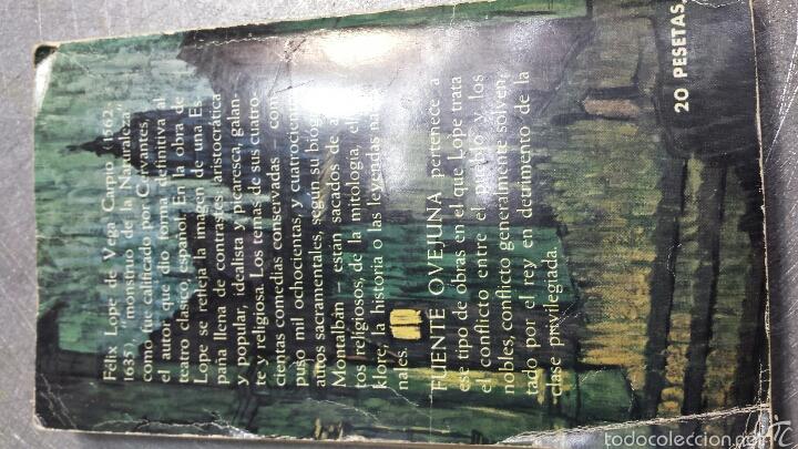 Libros de segunda mano: FUENTE OVEJUNA - FELIX LOPE DE VEGA - PLAZA Y JAMÉS AÑO 1964 - Foto 2 - 56243855