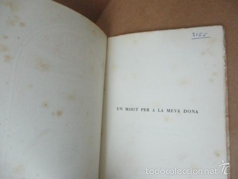 Libros de segunda mano: Un marit per a la meva dona - Camps i Pinós, Nicasi - Foto 2 - 56323033
