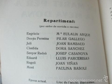 Libros de segunda mano: Un marit per a la meva dona - Camps i Pinós, Nicasi - Foto 3 - 56323033