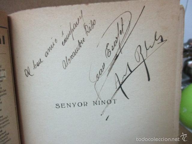 Libros de segunda mano: Senyor Ninot - CATALUNYA TEATRAL, nº 100 - 1936 - Escofet i Blanch - Firmado por ESCOFET (ver foto) - Foto 2 - 56324251