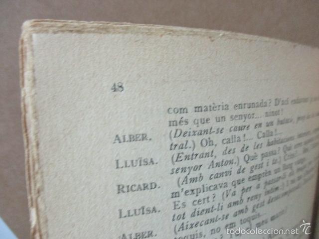 Libros de segunda mano: Senyor Ninot - CATALUNYA TEATRAL, nº 100 - 1936 - Escofet i Blanch - Firmado por ESCOFET (ver foto) - Foto 5 - 56324251