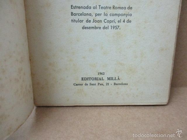 Libros de segunda mano: ROMEU DE 5 A 9, - Valenti Moragas Romer i Lluís Elias - 1957 - Foto 4 - 56325951