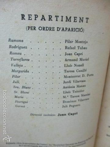 Libros de segunda mano: ROMEU DE 5 A 9, - Valenti Moragas Romer i Lluís Elias - 1957 - Foto 5 - 56325951