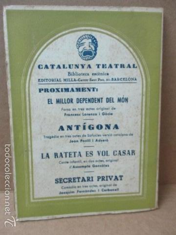 Libros de segunda mano: ROMEU DE 5 A 9, - Valenti Moragas Romer i Lluís Elias - 1957 - Foto 7 - 56325951