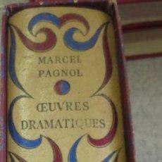 Livros em segunda mão: OEUVRES DRAMATIQUES THÉATRE ET CINÉMA MARCEL PAGNOL EDIT GALLIMARD AÑO 1954. Lote 56501640