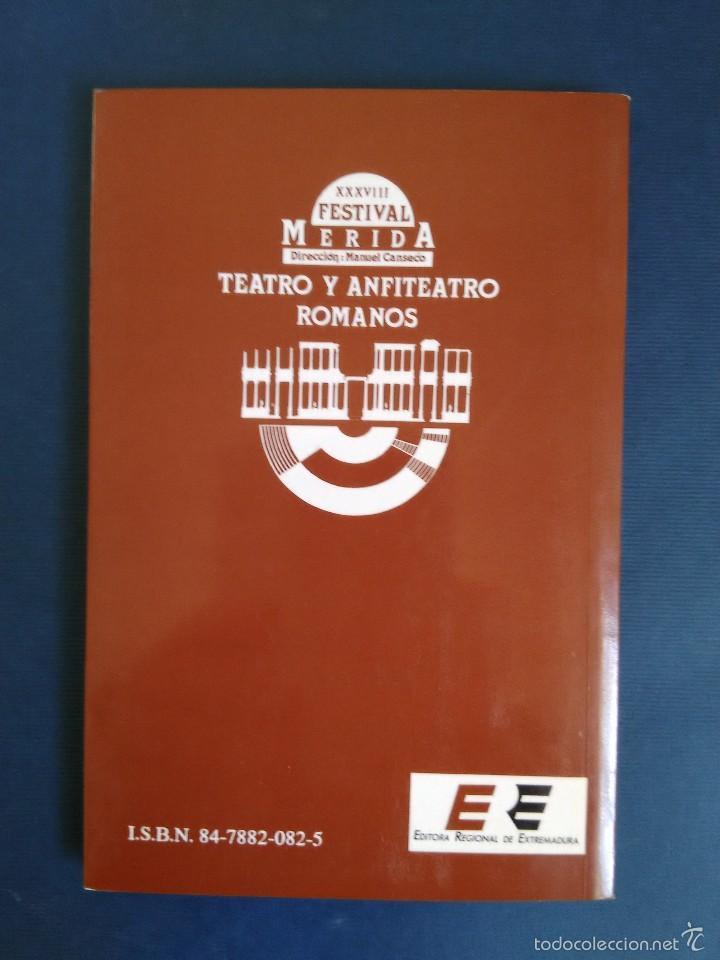 Libros de segunda mano: SÓFOCLES - EDIPO EN COLONO. Versión de Jorge Márquez. Colección Festival de Mérida - Foto 2 - 57093870