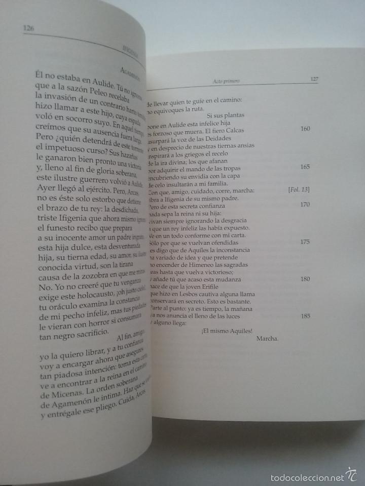 Libros de segunda mano: IPHIGENIA. JUAN RACINE. TRADUCIDA AL ESPAÑOL POR JOVELLANOS PARA USO TEATRO DE LOS SITIOS RS. 1769 - Foto 2 - 57124788