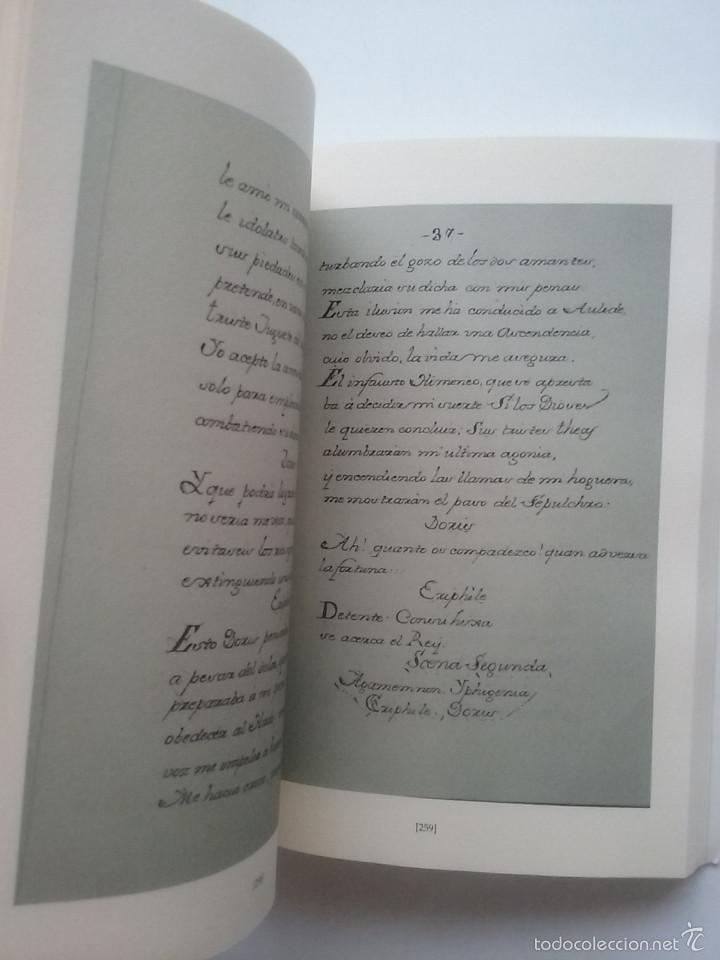 Libros de segunda mano: IPHIGENIA. JUAN RACINE. TRADUCIDA AL ESPAÑOL POR JOVELLANOS PARA USO TEATRO DE LOS SITIOS RS. 1769 - Foto 4 - 57124788