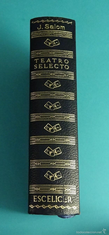 TEATRO SELECTO DE JAIME SALOM (Libros de Segunda Mano (posteriores a 1936) - Literatura - Teatro)