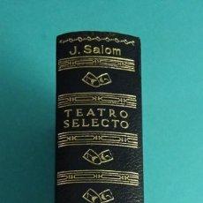 Libros de segunda mano: TEATRO SELECTO DE JAIME SALOM. Lote 57269656