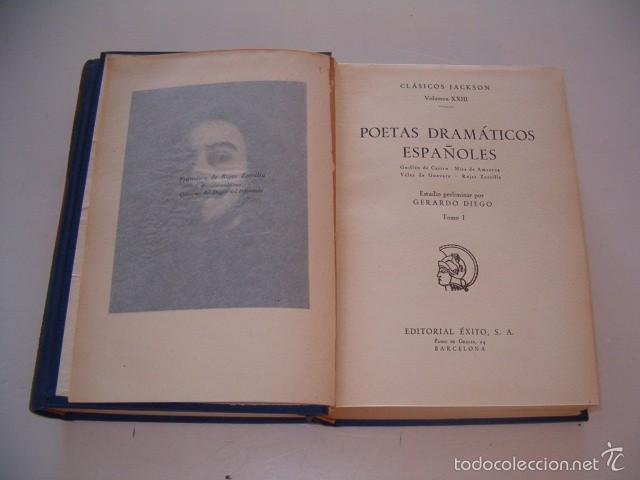 Libros de segunda mano: JOSÉ MARÍA JAVIERRE. Poetas Dramáticos Españoles. Tomos I y II. DOS TOMOS. RM75090. - Foto 4 - 57396913