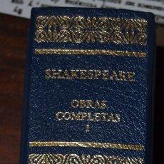 Libros de segunda mano: WILLIAM SHAKESPEARE. OBRAS COMPLETAS. TRAGEDIAS. AGUILAR. SANTILLANA EDICIONES GENERALES.2007. Lote 57537106