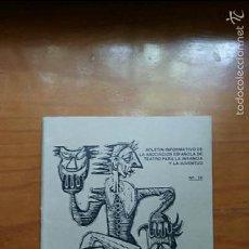 Libros de segunda mano: BOLETIN INFORMATIVO TEATRO PARA LA INFANCIA Y LA JUVENTUD. OCTUBRE DICIEMBRE 1973. Lote 57813008