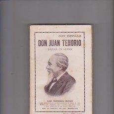 Libros de segunda mano: DON JUAN TENORIO - JOSÉ ZORRILLA - MAUCCI EDITORIAL . Lote 58117598