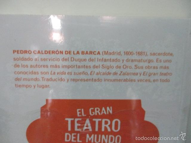 Libros de segunda mano: EL GRAN TEATRO DEL MUNDO, . PEDRO CALDERON DE LA BARCA - NUEVO Y PRECINTADO - Foto 3 - 58226298