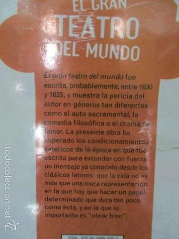 Libros de segunda mano: EL GRAN TEATRO DEL MUNDO, . PEDRO CALDERON DE LA BARCA - NUEVO Y PRECINTADO - Foto 4 - 58226298