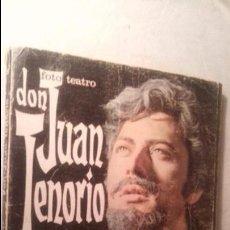 Libros de segunda mano: LIBRO FOTO TEATRO DON JUAN TENORIO. Lote 58257862