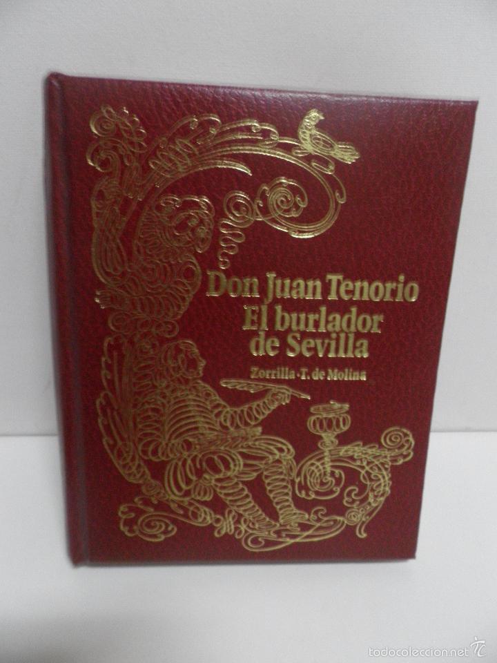 DON JUAN TENORIO Y EL BURLADOR DE SEVILLA , ZORRILA Y T. MOLINA 1968 ,EDICIONES ZEUS. (Libros de Segunda Mano (posteriores a 1936) - Literatura - Teatro)