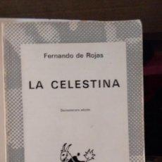 Libros de segunda mano: LA CELESTINA DE FERNANDO DE ROJAS. Lote 58829186
