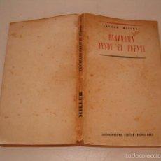 Libros de segunda mano: ARTHUR MILLER .PANORAMA DESDE EL PUENTE. RMT76162. . Lote 59517623