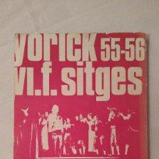 Libros de segunda mano: TEATRO Y UNIVERSIDAD - YORICK 55-56 - F SITGES - 1972. Lote 59761916