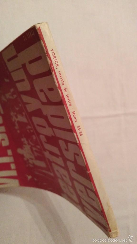 Libros de segunda mano: Teatro y Universidad - Yorick 55-56 - F Sitges - 1972 - Foto 2 - 59761916