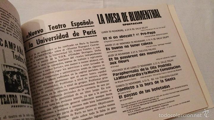 Libros de segunda mano: Teatro y Universidad - Yorick 55-56 - F Sitges - 1972 - Foto 6 - 59761916