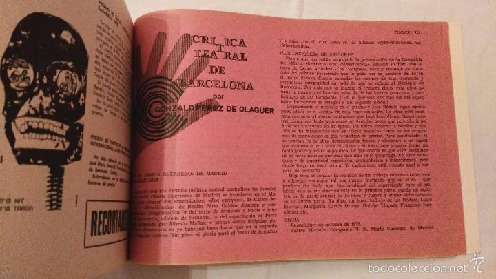 Libros de segunda mano: Teatro y Universidad - Yorick 55-56 - F Sitges - 1972 - Foto 7 - 59761916