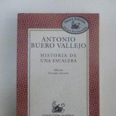 Libros de segunda mano: HISTORIA DE UNA ESCALERA - ANTONIO BUERO VALLEJO. 151PP.. Lote 61060991