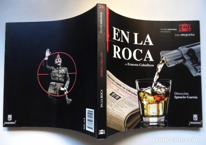 ERNESTO CABALLERO, EN LA ROCA; GRAN TOMO SOBRE SU OBRA DE TEATRO DIRIGIDA POR IGNACIO GARCÍA (Libros de Segunda Mano (posteriores a 1936) - Literatura - Teatro)