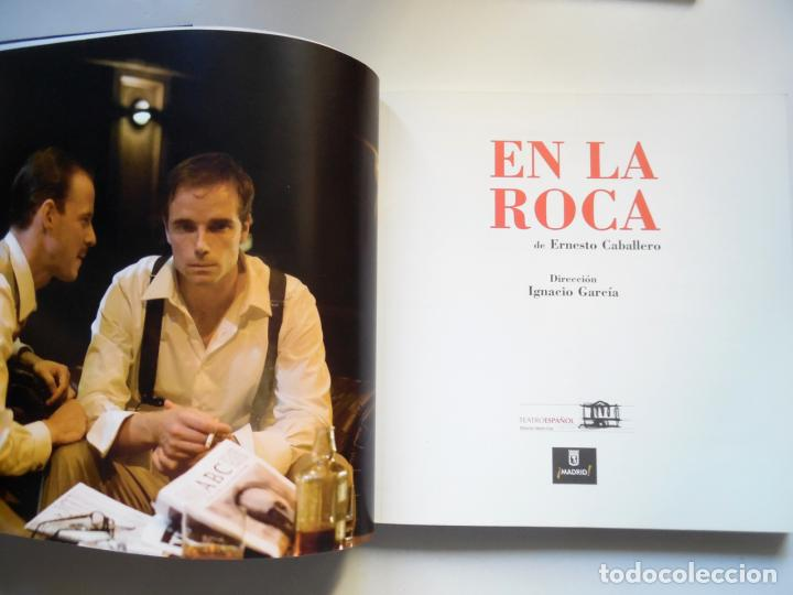 Libros de segunda mano: Ernesto Caballero, En la roca; gran tomo sobre su obra de teatro dirigida por Ignacio García - Foto 2 - 61468131