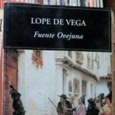 Libros de segunda mano: FUENTE OVEJUNA, LOPE DE VEGA. Lote 61997328
