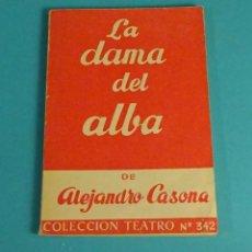 Libros de segunda mano: LA DAMA DEL ALBA DE ALEJANDRO CASONA. COLECCIÓN TEATRO Nº 342. Lote 65653334