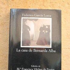 Libros de segunda mano - La casa de Bernarda Alba. Federico García Lorca. Cátedra. - 66350358