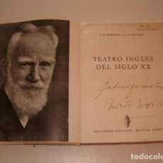 Libros de segunda mano: P. O. DUDGEON, M. A. OLIVERA. TEATRO INGLÉS DEL SIGLO XX. RMT77655. . Lote 67955509
