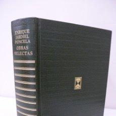 Libros de segunda mano: ENRIQUE JARDIEL PONCELA. OBRAS SELECTAS. EDICIONES CARROGGIO. Lote 68665273